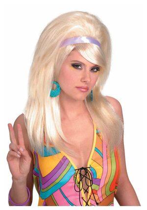 Adult Blonde Mod 60s Wig