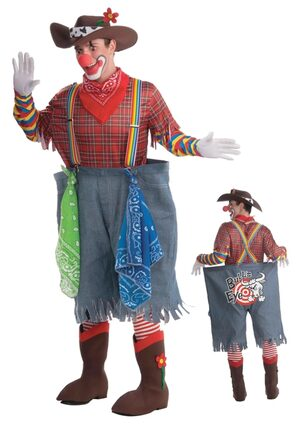 Funny Rodeo Clown Adult Costume