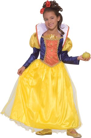 Girls Designer Snow White Costume
