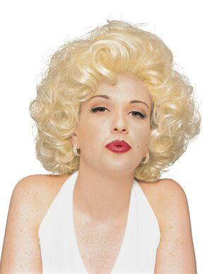 Adult Marilyn Monroe Costume Wig