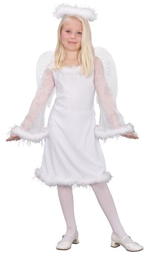 Kids Heaven Sent Girls Angel Costume
