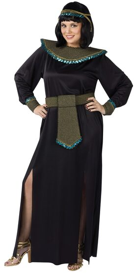 Womens Midnight Cleopatra Plus Size Costume