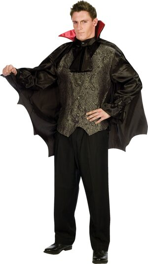 Mens Adult Dapper Dracula Vampire Costume