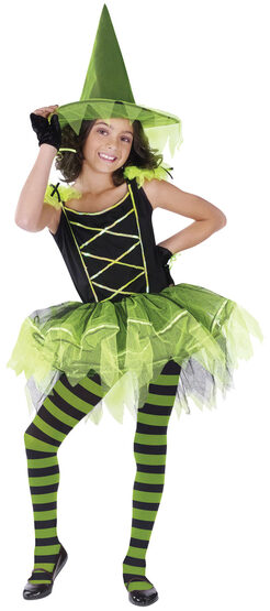 Kids Ballerina Witch Costume