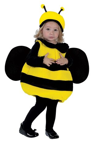 Sweet Bumble Bee Toddler Costume