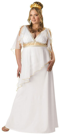 Greek Goddess Plus Size Costume