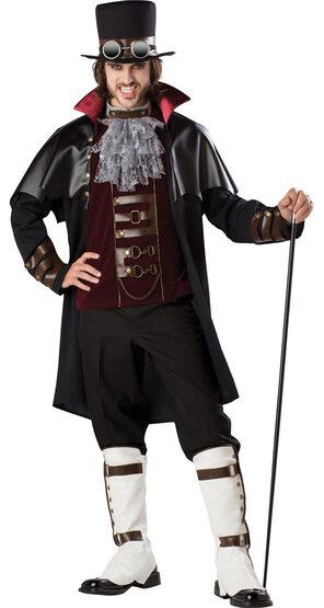 Elite Mens Steampunk Vampire Adult Costume