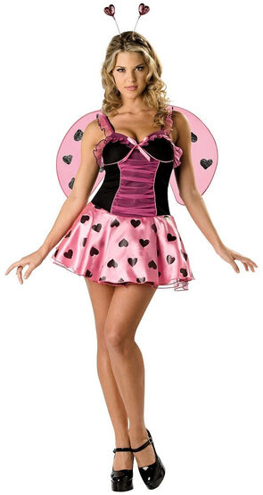 Luscious Love Bug Sexy Costume