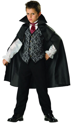 Kids Midnight Vampire Costume