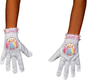 Kids Disney Princess Short Gloves