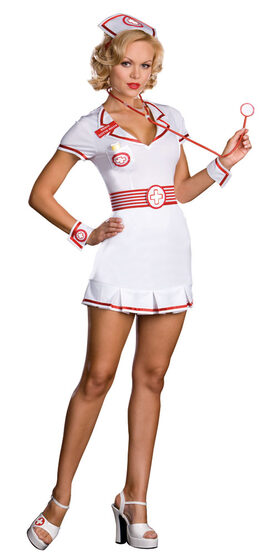 Lotta Meds Sexy Nurse Costume