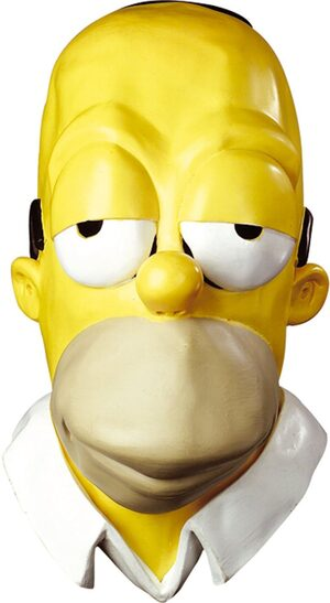 Homer Vinyl Oversized Adult Mask