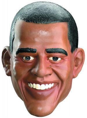 Barack Obama Full Vinyl Mask