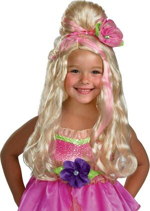 Barbie Thumbelina Kids Wig