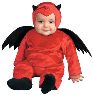 D' Little Devil Baby Costume