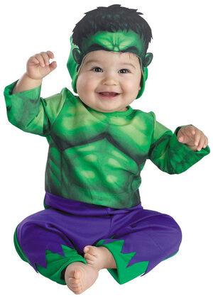 Hulk Baby Costume