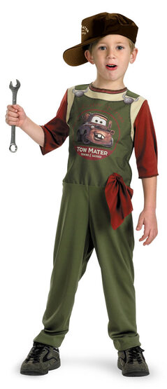 Disney Tow Mater Mechanic Quality Toddler Costume