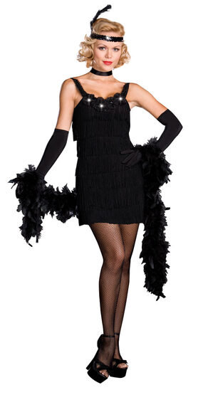 All That Jazz Sexy Flapper Costume