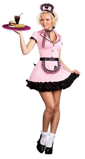 Sherri Cola Sexy 50s Costume
