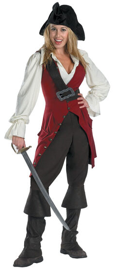 Elizabeth Deluxe Womens Pirates of the Caribbean Costume