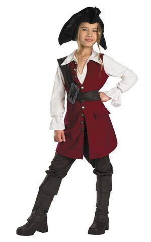 Elizabeth Deluxe Pirates of the Caribbean Kids Costume