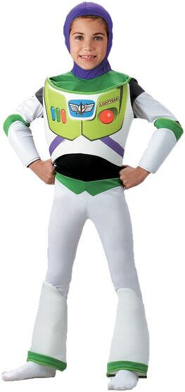 Disney Buzz Lightyear Deluxe Kids Costume