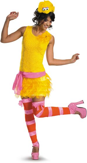 Sesame Street Sassy Big Bird Adult Costume