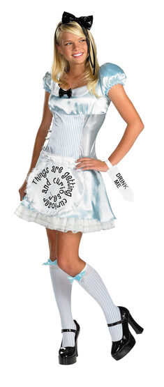 Curious Adult Alice in Wonderland Costume