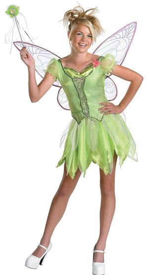 Disney Deluxe Tween Tinkerbell Costume