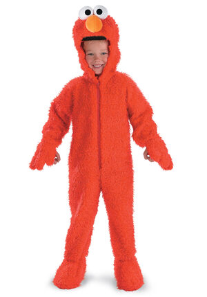 Elmo Deluxe Plush Toddler Costume