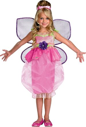 Kids Deluxe Toddler Barbie Thumbelina Costume