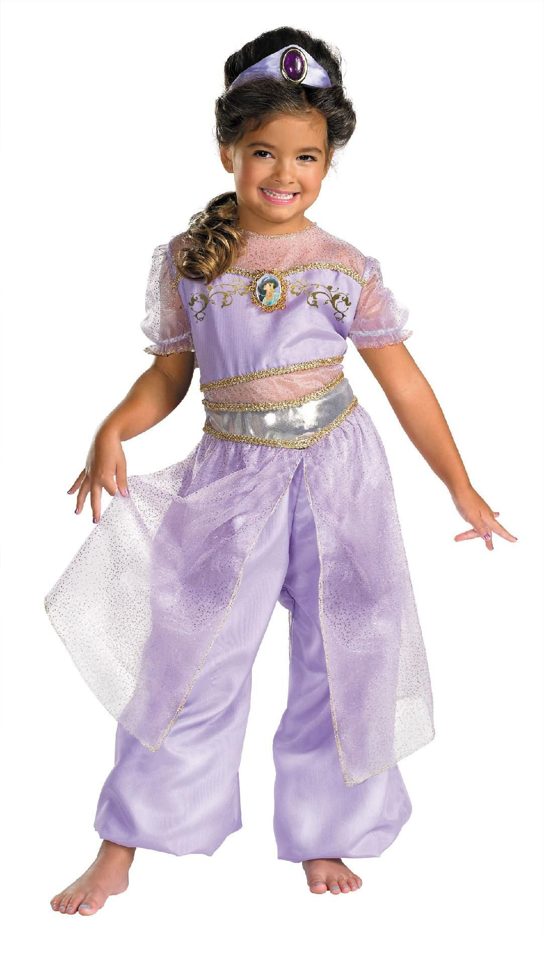 Kids Deluxe Disney Princess Jasmine Costume  sc 1 st  Mr. Costumes & Kids Deluxe Disney Princess Jasmine Costume - Mr. Costumes
