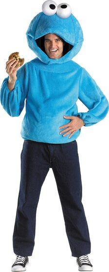 Sesame Street Cookie Monster Adult Costume