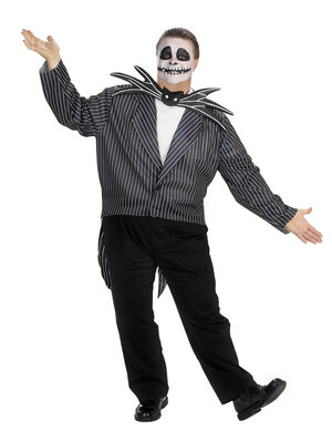 The Nightmare Before Christmas Jack Skellington Plus Size Costume