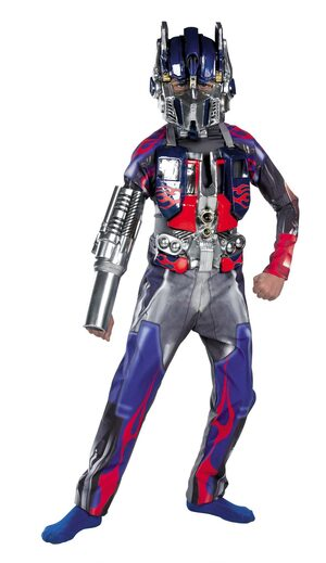 Transformers 2 Optimus Prime Deluxe Kids Costume