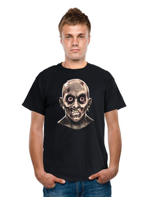 Animated Frantic Zombie Eyeballs T-Shirt