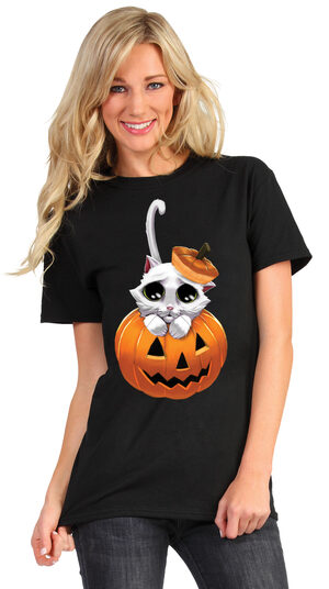 Animated Adorable Kitty Eyes T-Shirt