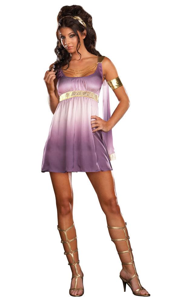 Sexy greek goddess halloween costume