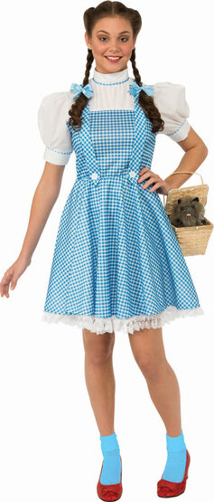 Classic Dorothy Wizard of Oz Adult Costume
