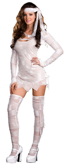 Womens Egyptian Mummy Sexy Costume
