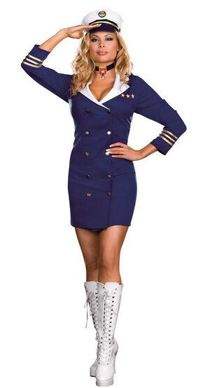 Admiral Aphrodisiac Sexy Plus Size Sailor Costume
