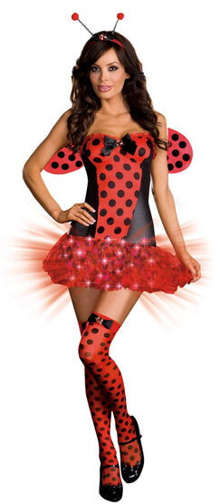 Light Me Up Sexy Ladybug Costume