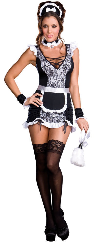 Hot french maid costume