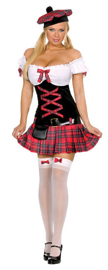 Scottish Sassy Lassie Sexy Costume
