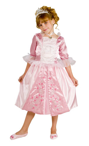 Rosebud Pink Princess Kids Costume