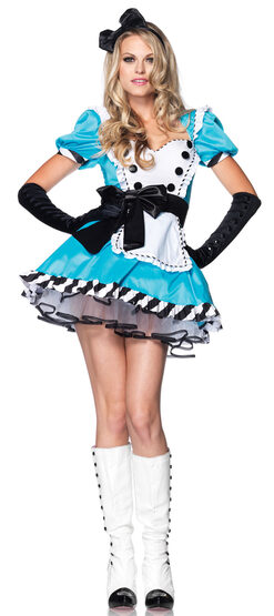 Sexy Charming Alice in Wonderland Costume