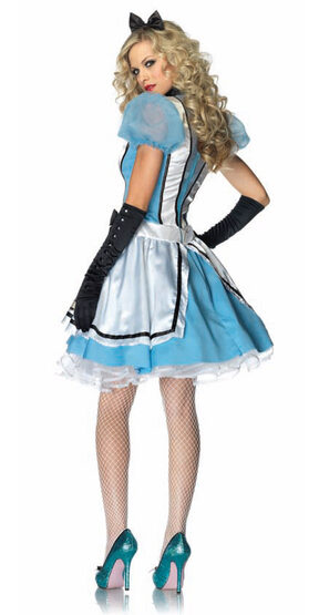Sexy Tea Time Alice In Wonderland Costume Costume