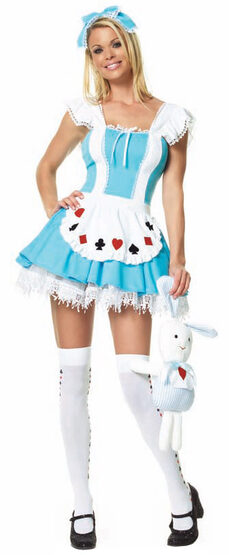 Sexy Innocent Alice In Wonderland Costume