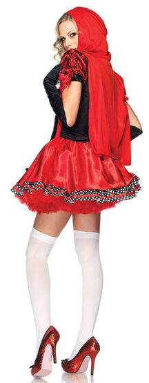 Sexy Divine Miss Red Riding Hood Costume