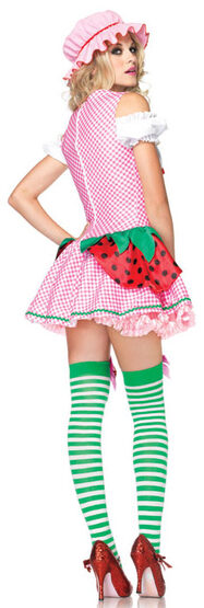 Strawberry Beauty Adult Costume